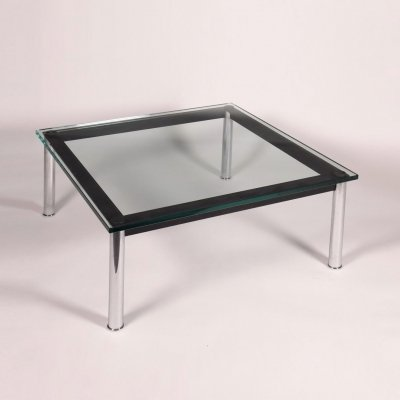 LC10 Coffee Table by Le Corbusier for Cassina, 1990s