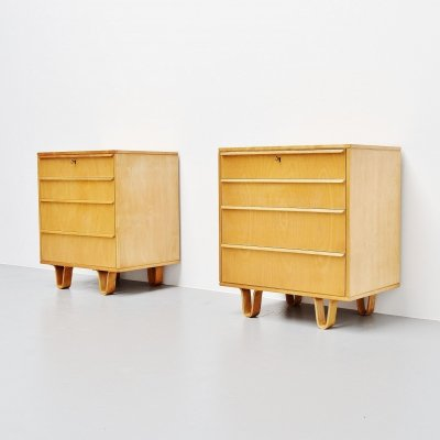 Cees Braakman for Pastoe CB05 drawer cabinets, Holland 1952