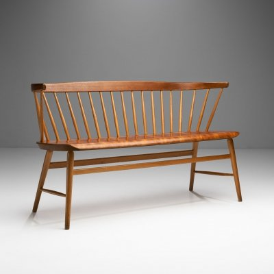'Florida' Bench by Ebbe Wigell for AB Bröderna, Sweden 1950s