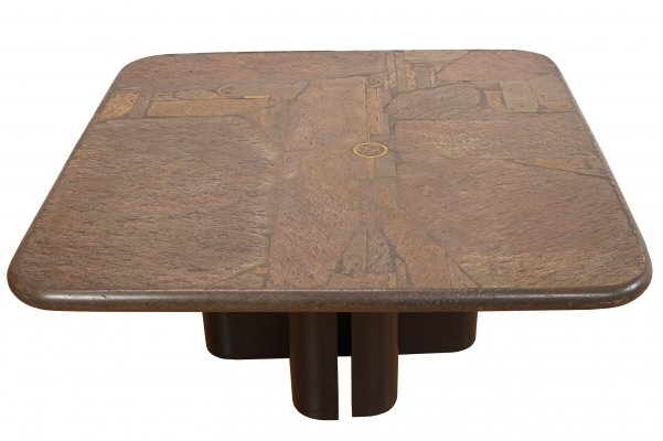 Brutalist Coffee Table by Marcus Kingma, 1990s