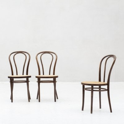Set of 3 dining chairs by Thonet for ZPM Radomsko, Poland 1960's