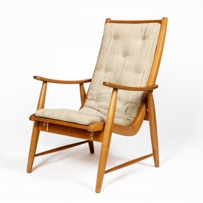 Ronco lounge chair by Jacob Müller for Wohnhilfe, 1950s