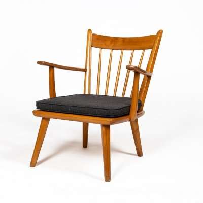 Traditional style armchair by Jacob Müller, 1950s