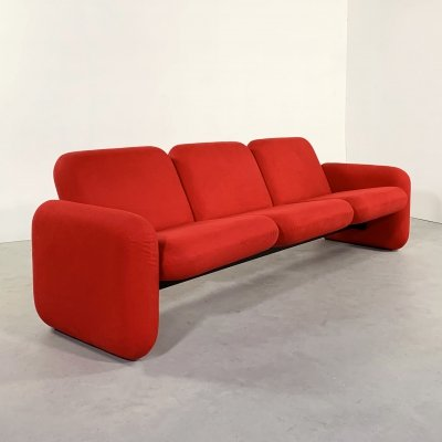 3-Seater Chiclet Sofa by Ray Wilkes for Herman Miller, 1970s