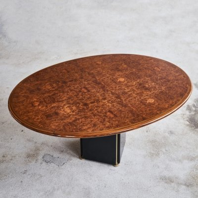 Artona Dining Table in Walnut by Afra & Tobia Scarpa for Maxalto