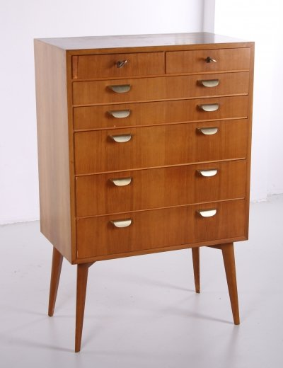 Helmut Magg for WK Möbel Mid-Century Modern Bachelor Chest, 1950s