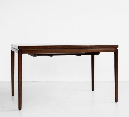 Midcentury Danish dining table in rosewood by Christian Linneberg, 1960s