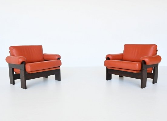 Martin Visser SZ74 lounge chairs by 't Spectrum, The Netherlands 1969