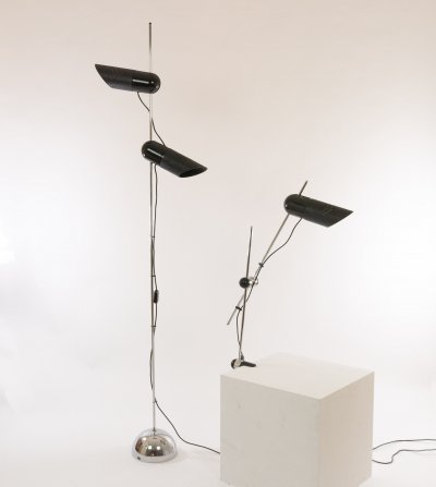 Galdino Floor & Table lamp by Carlo Urbinati for Harvey Guzzini