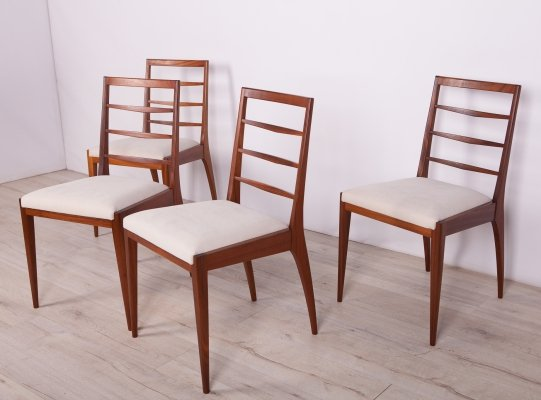 Set of 4 Mid-Century Teak Dining Chairs from McIntosh, 1960s