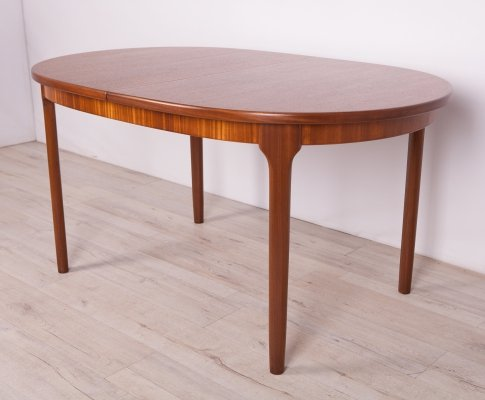 Oval Extendable Dining Table from McIntosh, 1960s