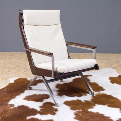 Rob Parry lounge chair in rosewood by Gelderland, 1960s