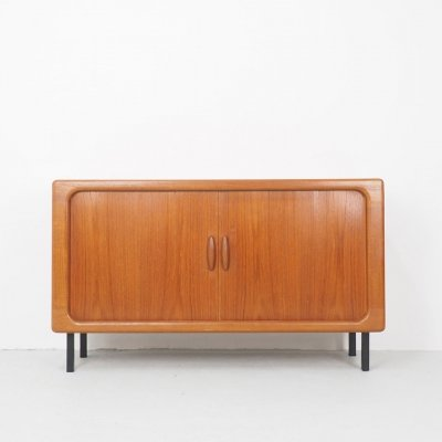Dyrlund Danish design sideboard with tambour doors, 1960's