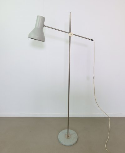 Height adjustable Floor lamp, 1960s