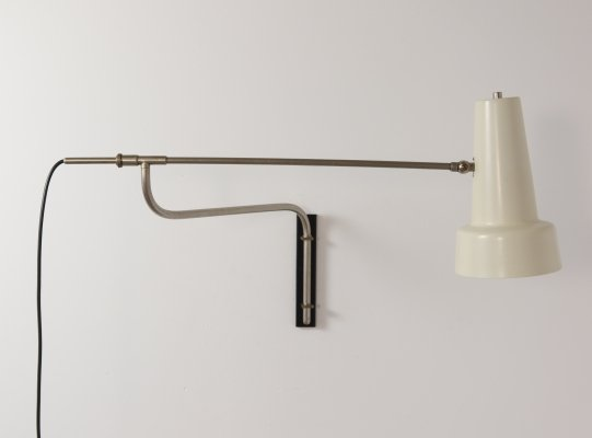 Extendable wall lamp by Willem Hagoort, 1960s