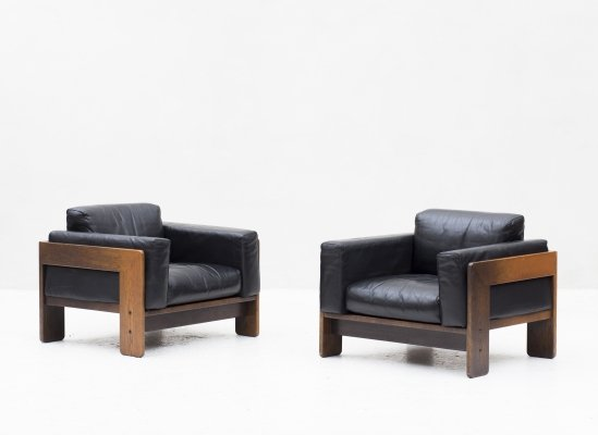 Set of 2 'Bastiano' easy chairs by Tobia & Afra Scarpa for Knoll, 1983