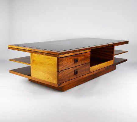 Rosewood rollable Coffee Table, 1960s