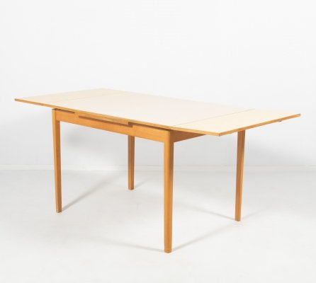 Mid-Century extendable dining table, Sweden 1950's