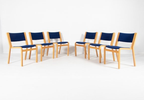 Set of 6 chairs by Rud Thygesen & Johnny Sørensen for Magnus Olesen, Denmark