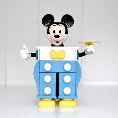 Mickey Mouse chest of drawers by Pierre Colleu for Starform, 1980s