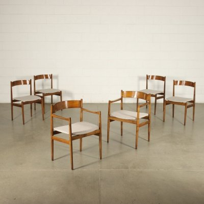 Set of 6 Chairs by Gianfranco Frattini for Cassina