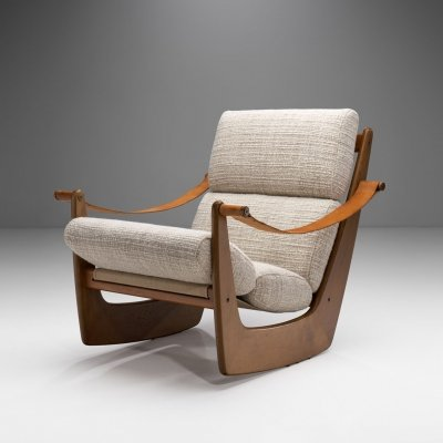 Rocking Chair in Oak by Bent Møller Jepsen, Denmark ca 1960s