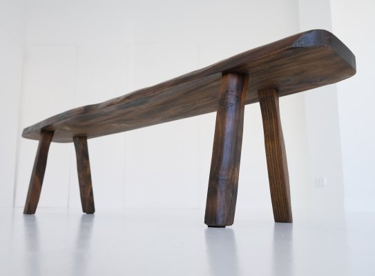 Brutalistic bench, 1960s