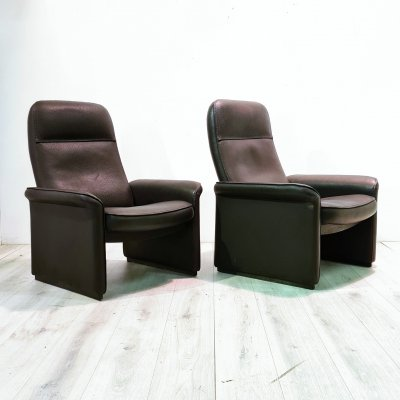 Pair of DS50 lounge chairs by De Sede, 1980s