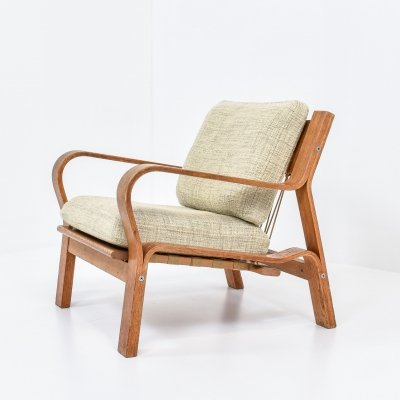 Hans Wegner GE 671 Lounge Chair, 1960s