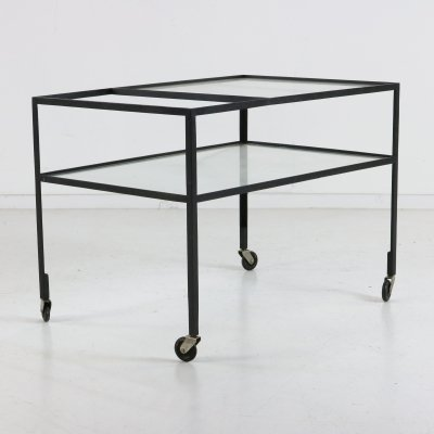 Herbert Hirche serving bar cart / trolley for Cristian Holzäpfel Germany
