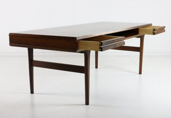 Mid-century Danish design coffee table with drawers, 1960s