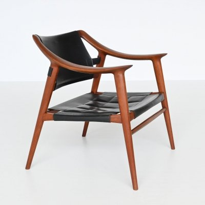Rolf Rastad & Adolf Relling Bambi lounge chair by Gustav Bahus, Norway 1954