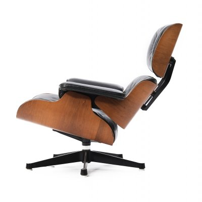 Eames lounge chair by Charles & Ray Eames for Herman Miller, 1970s