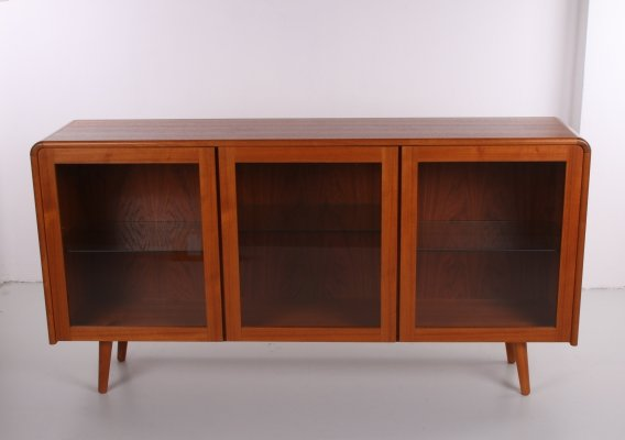 Danish Design Sideboard / display cabinet with lighting, 1960s