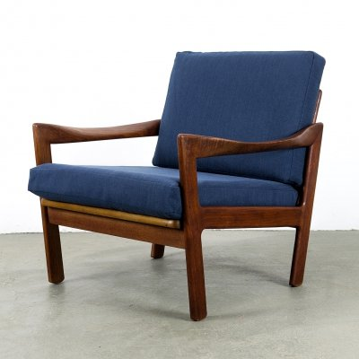 Teak Lounge Chair by Illum Wikkelsø for N. Eilersen, 1950s