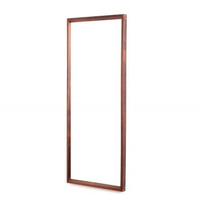 Large vintage Danish rosewood model 145 mirror by Kai Kristiansen for Kjersgaard