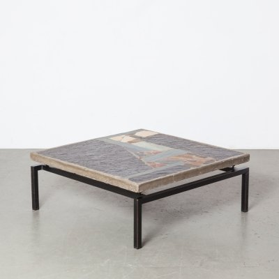 Square Paul Kingma coffee table, 1964