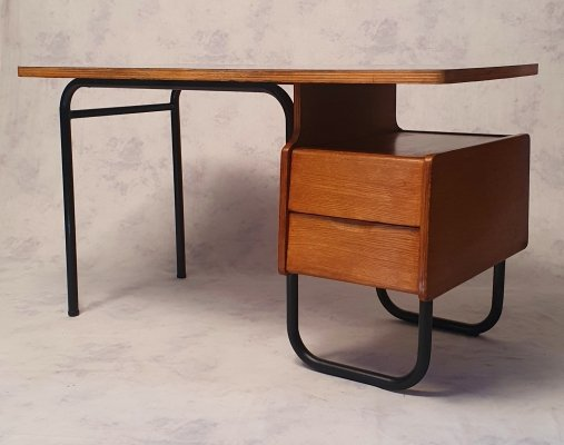 Desk by Robert Charroy for Mobilor, 1955