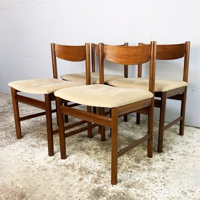 4 x 1960's mid century dining chairs by White & Newton