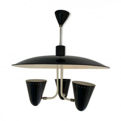 Hanging lamp by H. Busquet for Hala Zeist, 1950s