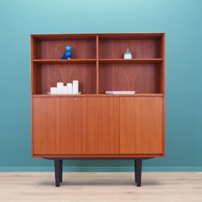 Teak bookcase by Bertil Fridhagen for Bodafors, 1960s