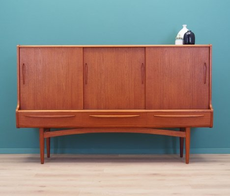 Teak highboard, Danish design 1960s