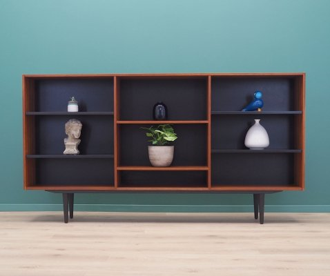 Teak bookcase, Danish design 1970s