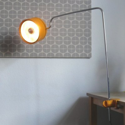 Large Staff desk lamp by Arnold Berges, 1970s