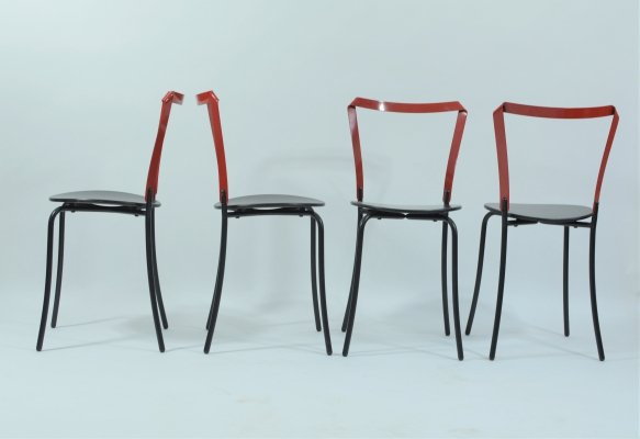 Set of 4 ' Dacapo' chairs by Swedish designer Jonas Osslund for Lammhults