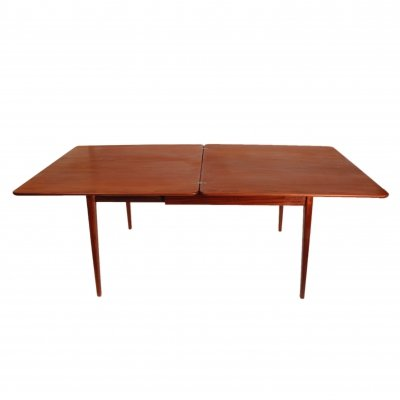 Foldable Louis van Teeffelen for Wébé dining table, 1960's