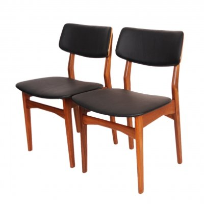 Pair of chairs by Mahjongg Vlaardingen, 1960s