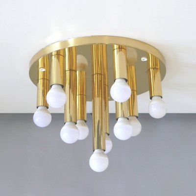 Sölken space age ceiling lamp, 1970s