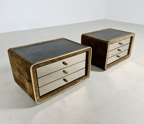 Set of 2 bedside tables by RUF international Germany, 1970s