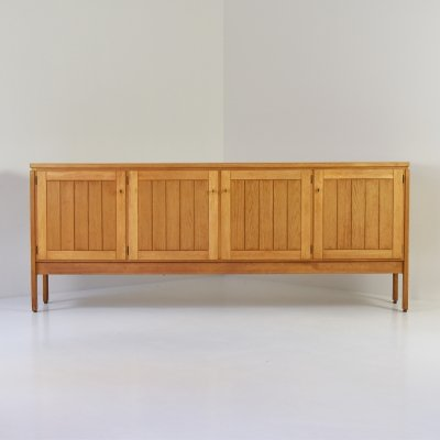 Sideboard in oak by Van den Berghe-Pauvers, Belgium 1960's